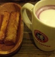 紫薯拿铁.