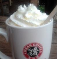 白巧克力咖啡.